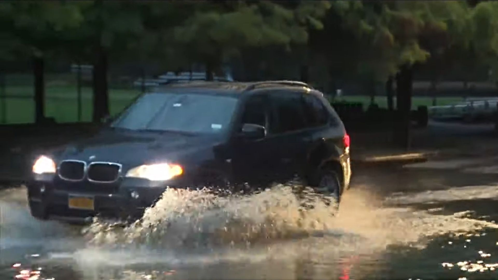 Flooding in Queens during Henri