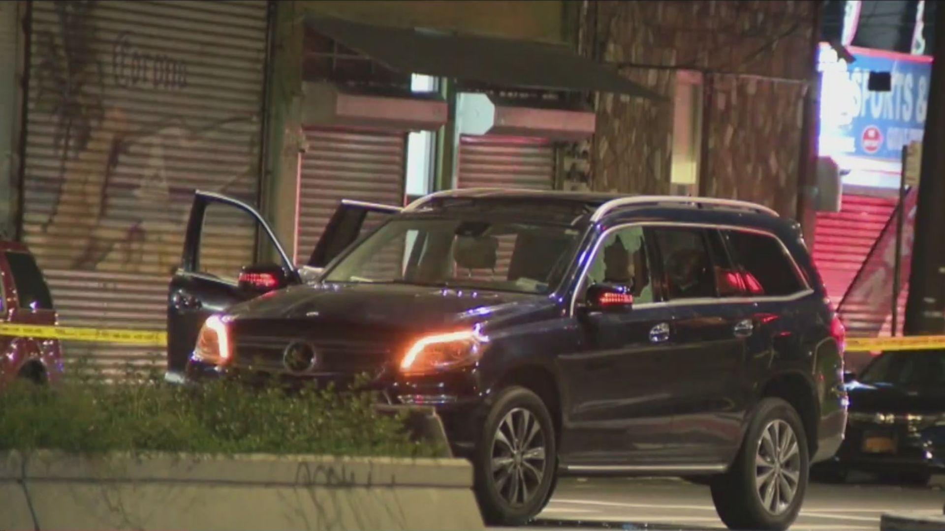 Teens shot in SUV in Cypress Hills, Brooklyn