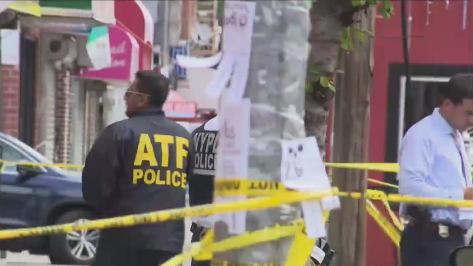 Police on scene after mass shooting in Corona, Queens