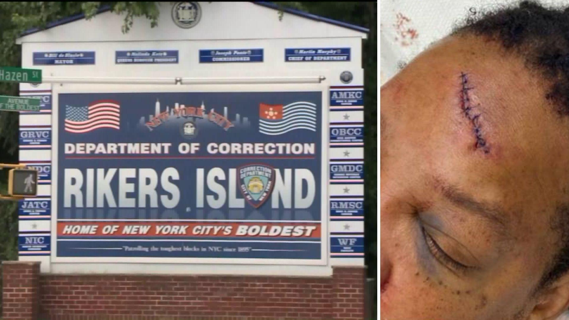 Inmate attacks correction officer at Rikers Island jail facility