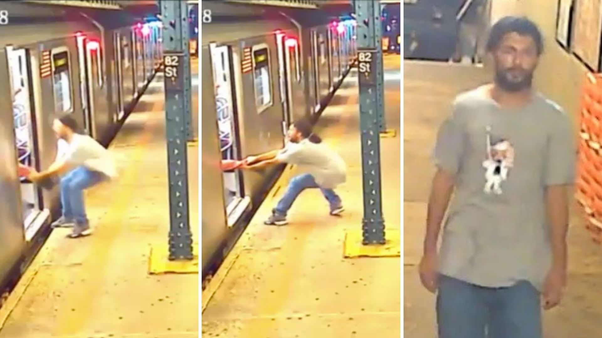 Queens subway attempted robbery
