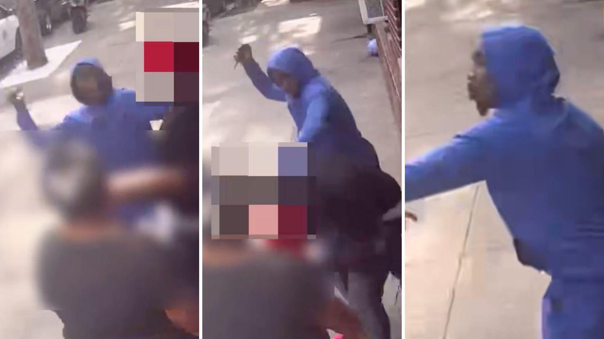 Brooklyn man stabbed in face on Brooklyn sidewalk