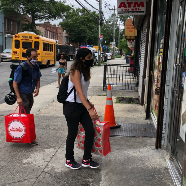 covid vaccine outreach group in Queens