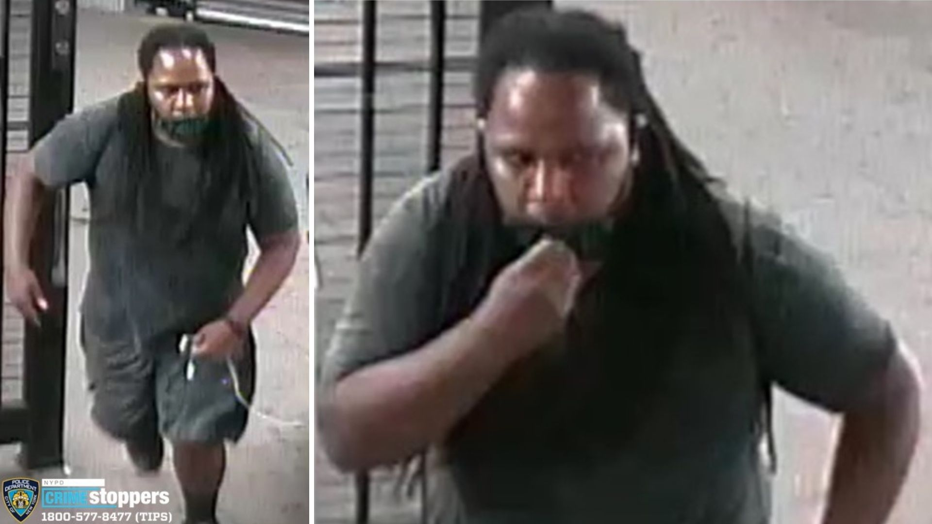 Man wanted in connection with an attempted rape on a Washington Heights subway