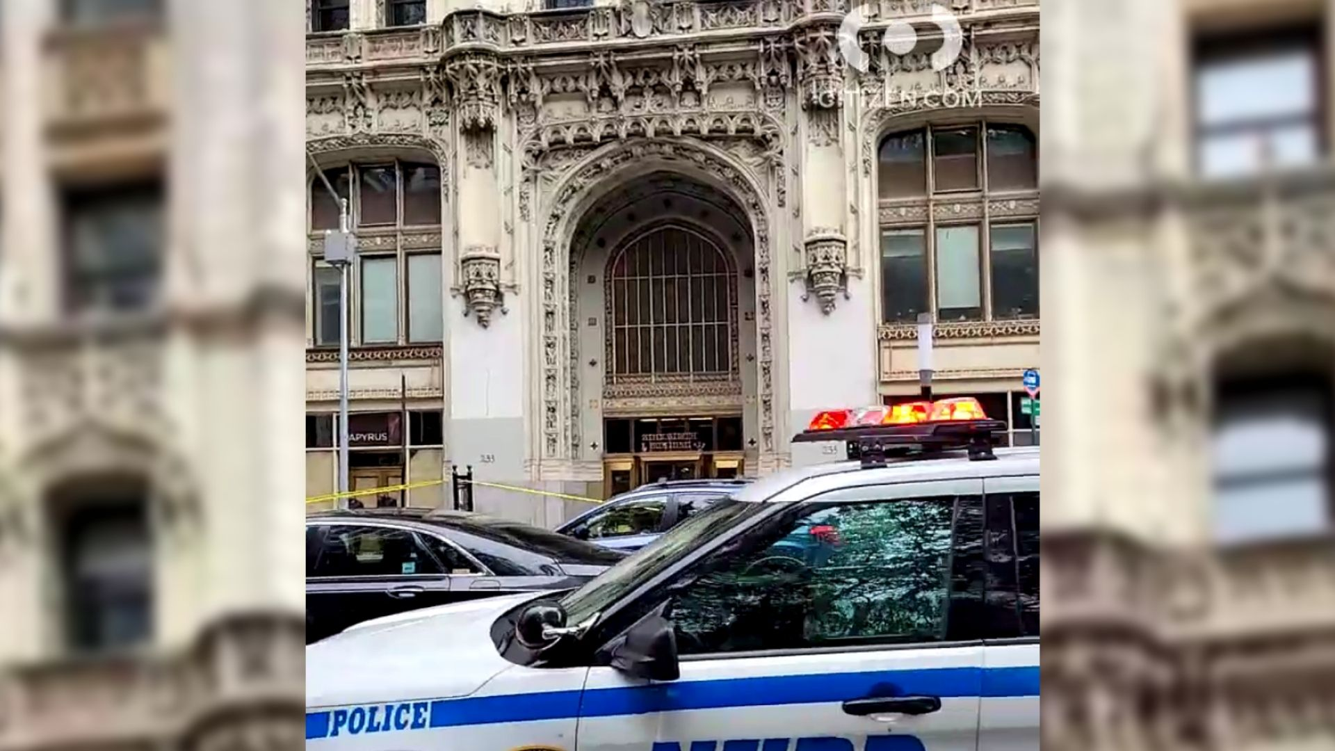 Woolworth Building evacuated