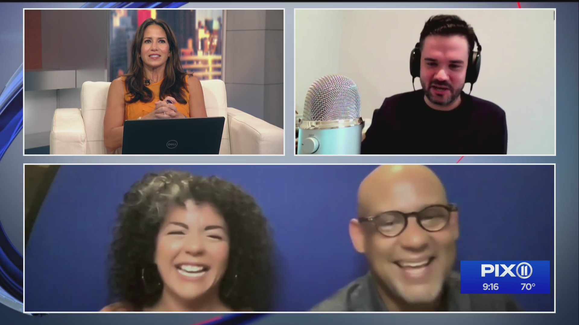 Latinos Out Loud podcast hosts on PIX11