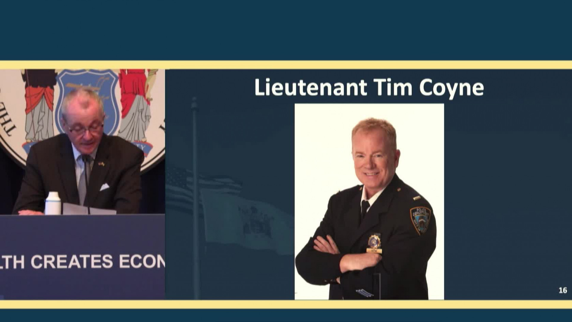 NYPD Lt. Tim Coyne