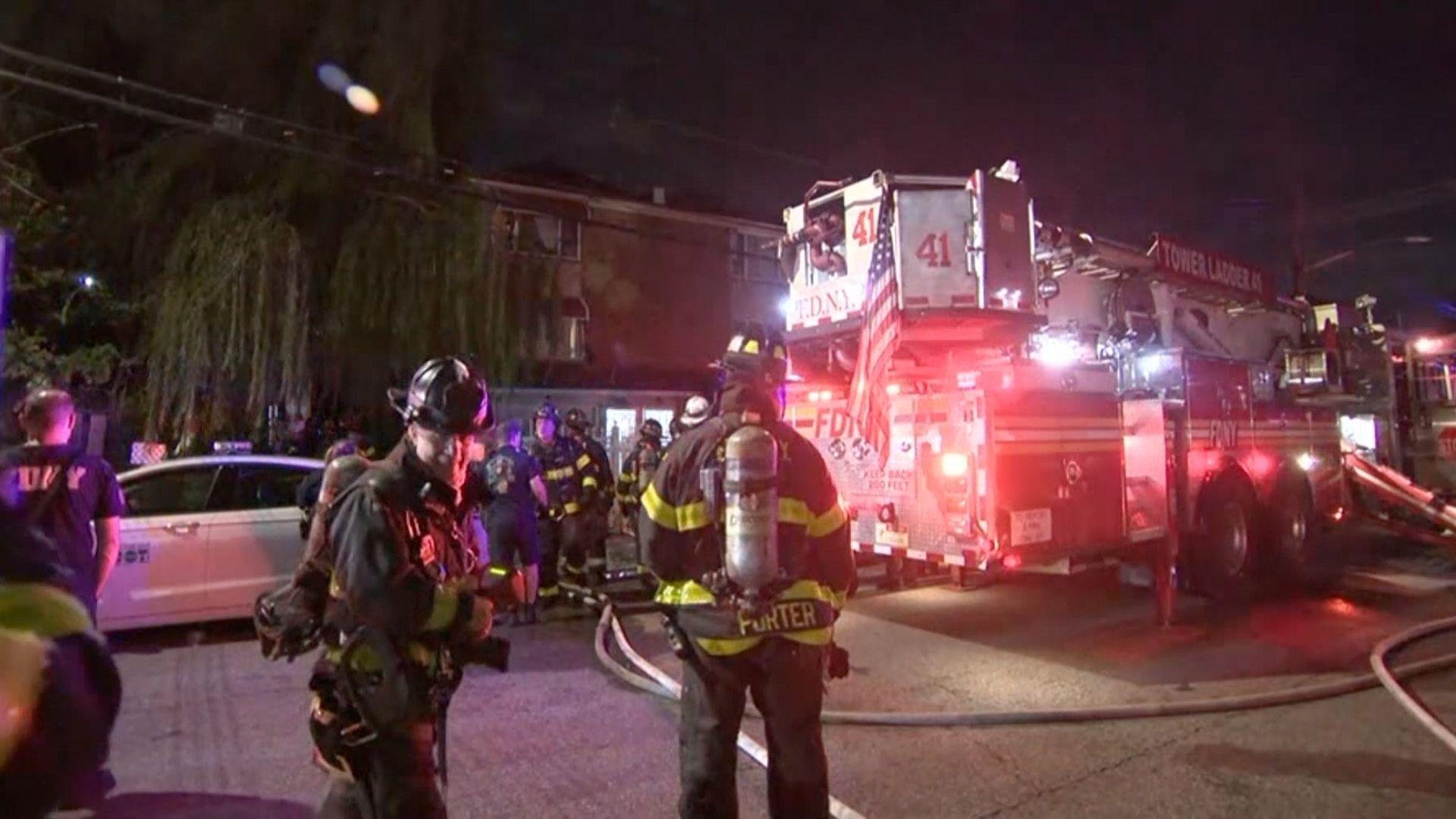 Bronx house fire
