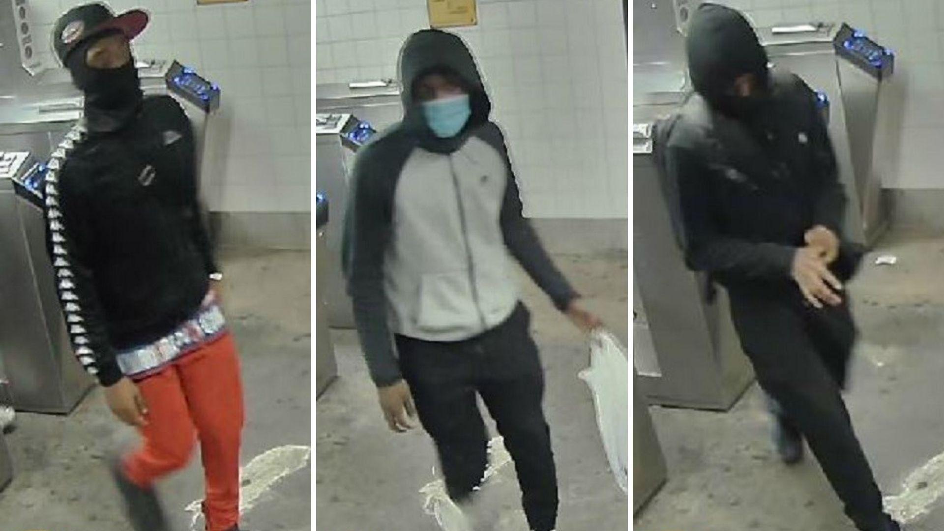Trio put man in chokehold, rob him at gunpoint in Bronx subway station