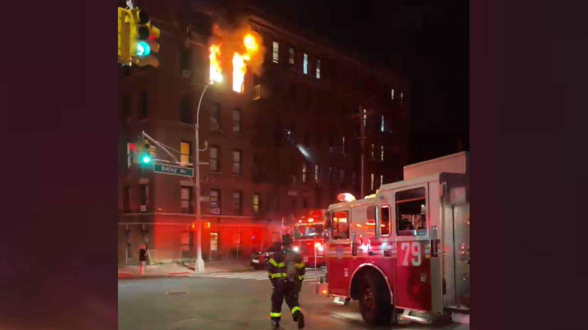 Bronx apartment fire in Kingsbridge
