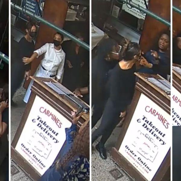 New footage of Carmine's altercation