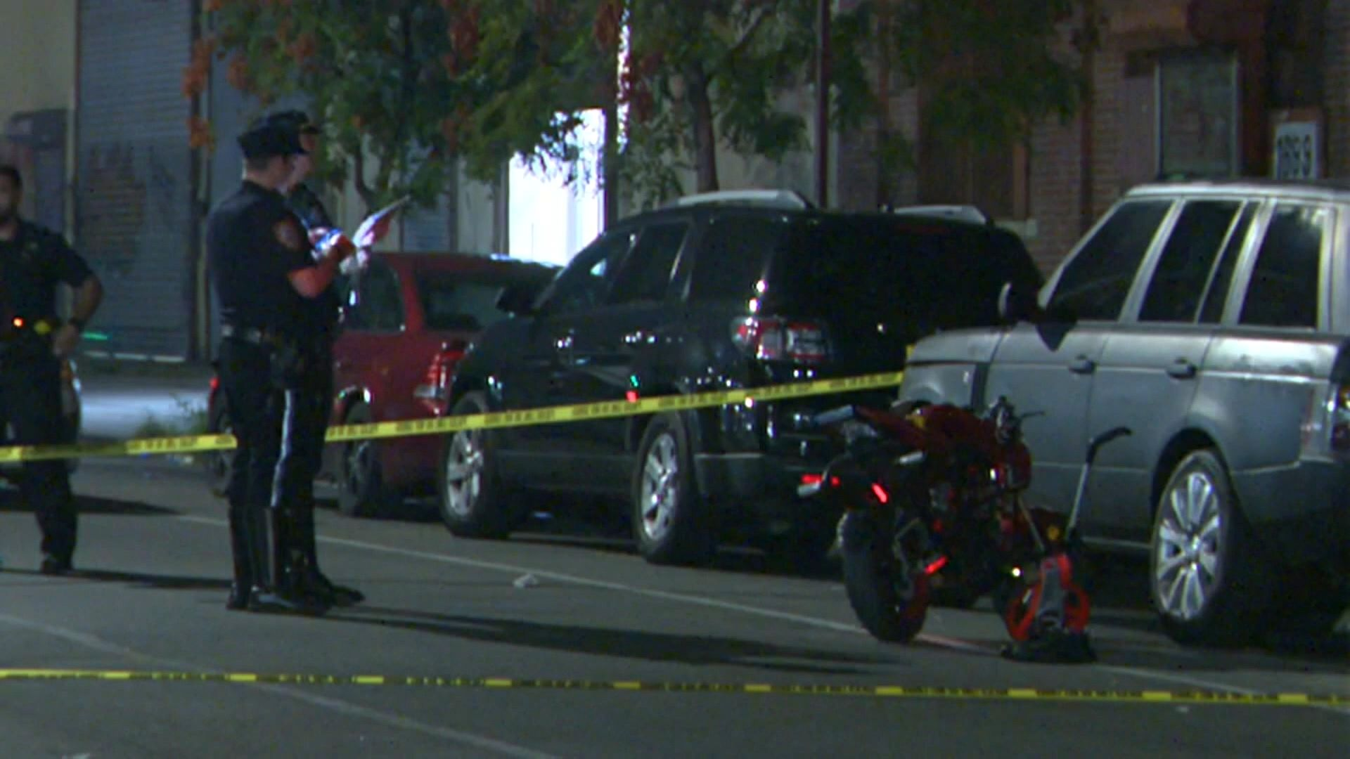 Child struck by motorcycle in Brooklyn