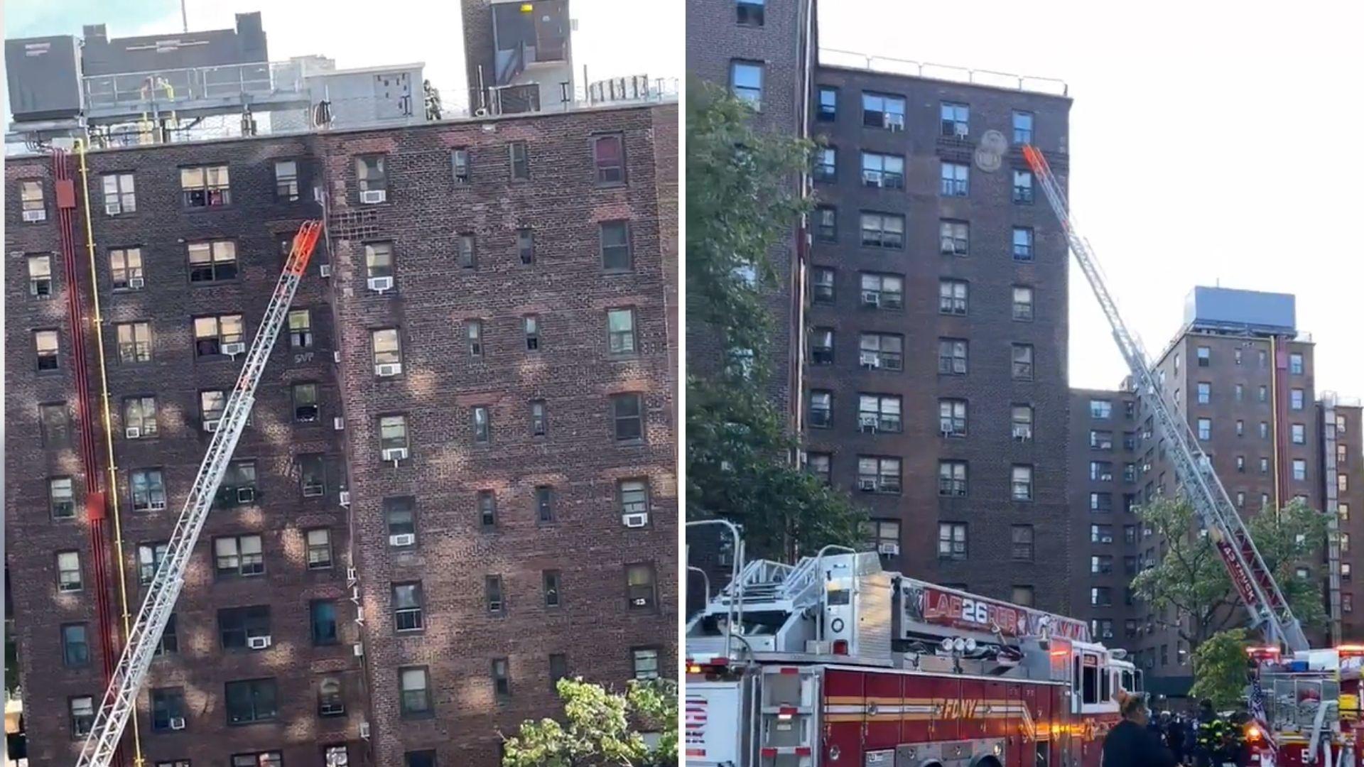 East Harlem fire