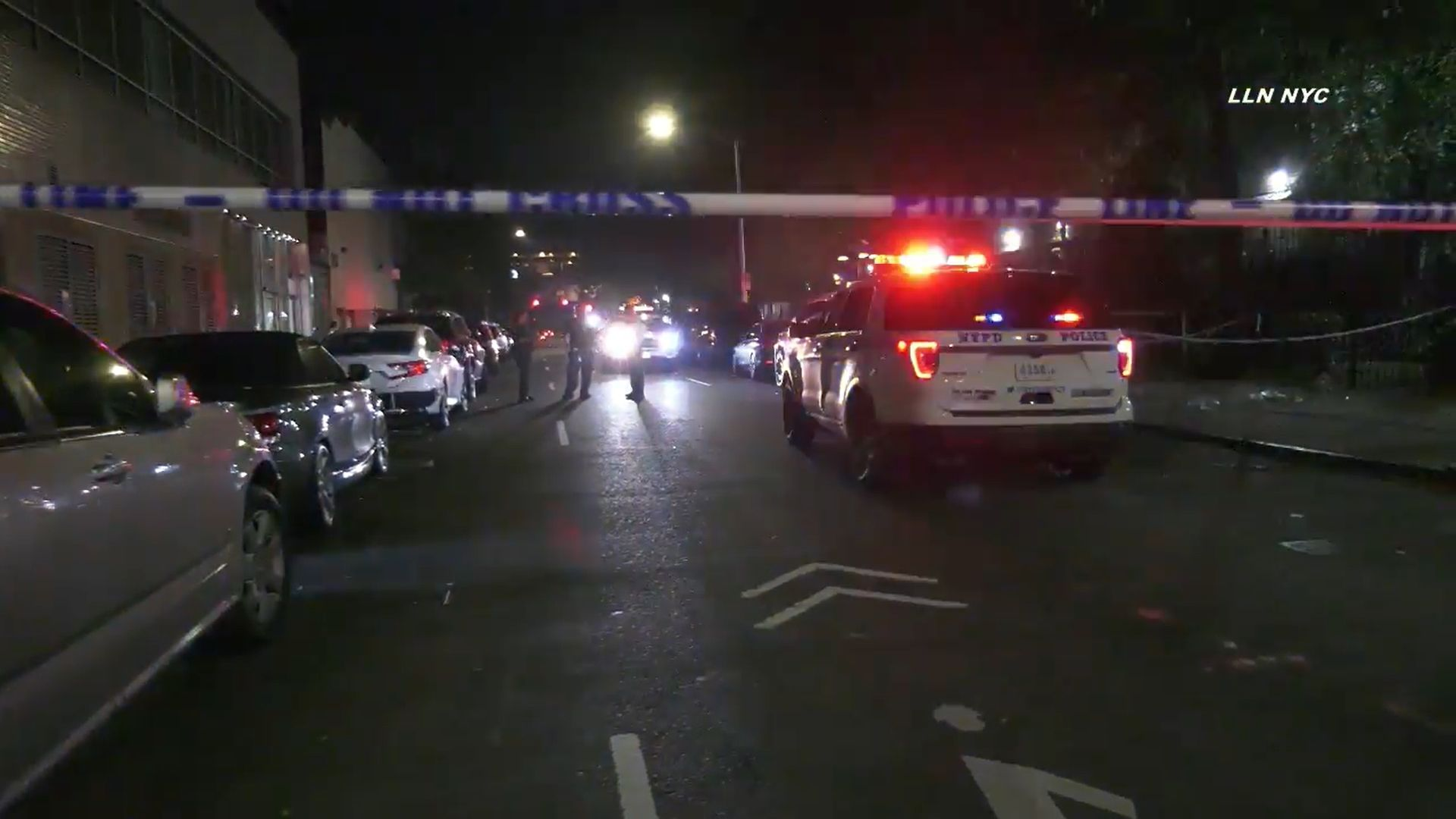 Scene of a deadly East Harlem triple shooting