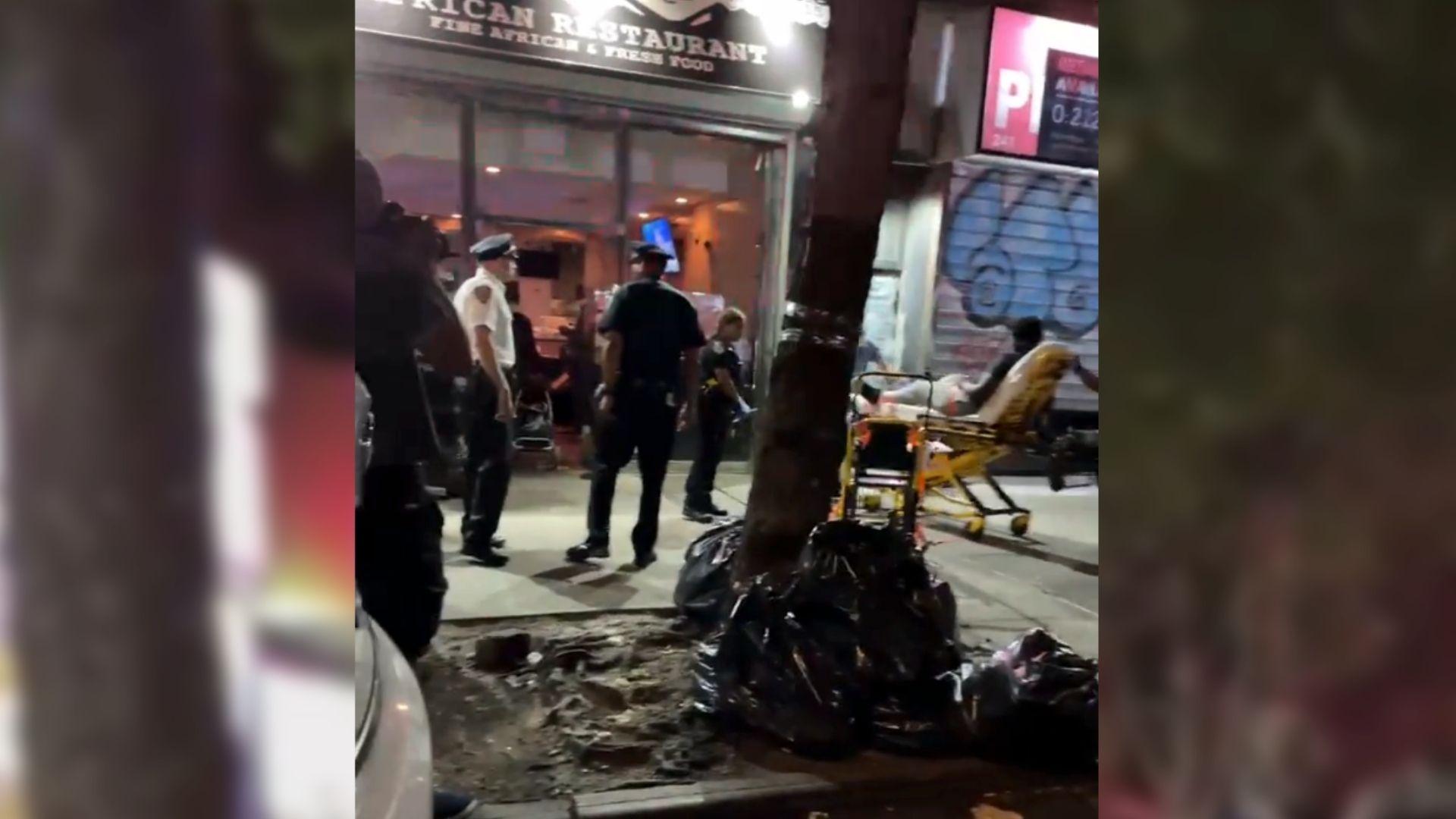 Teen shot in leg in Harlem