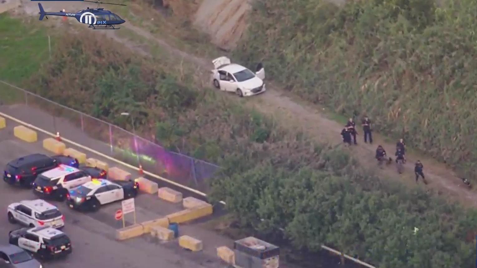 Bayonne, Jersey City police pursuit