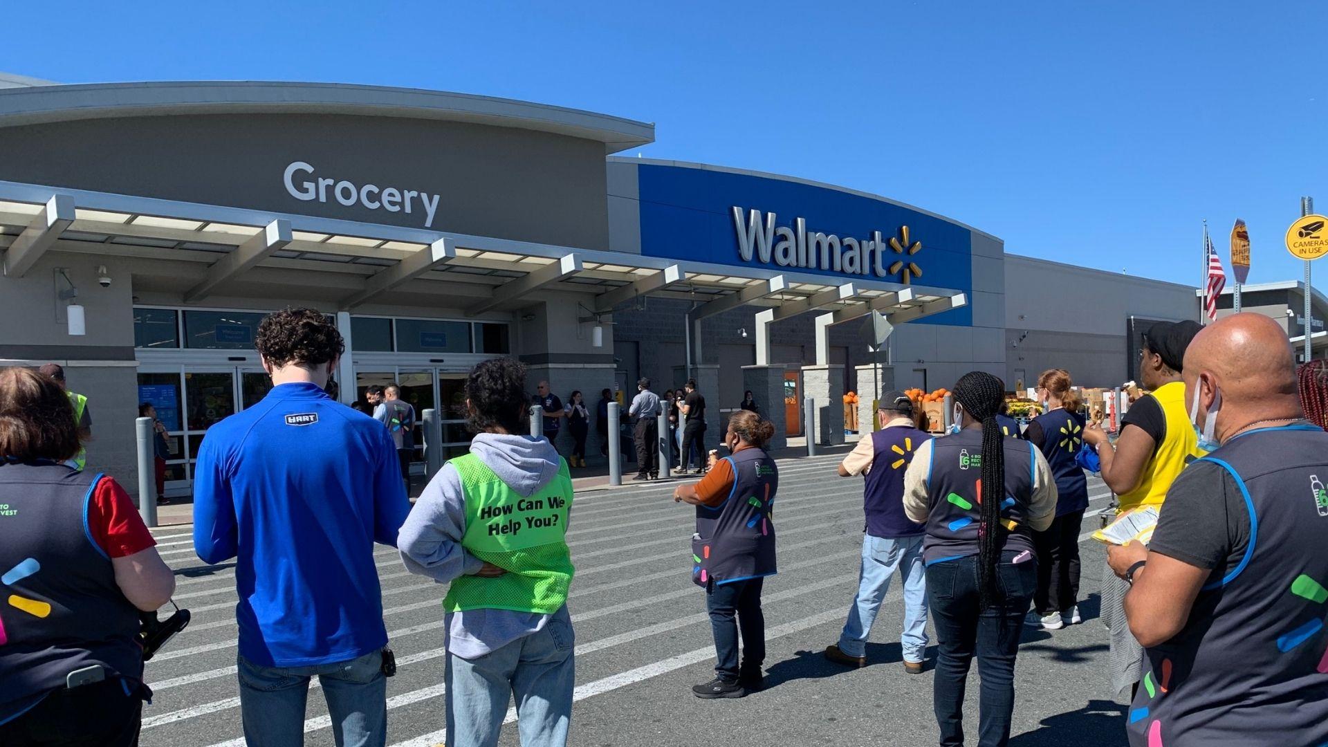 Machete attack at New Jersey Walmart in Kearny
