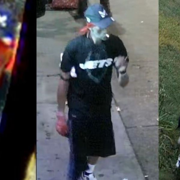Suspect after woman robbed in Breezy Point, Brooklyn