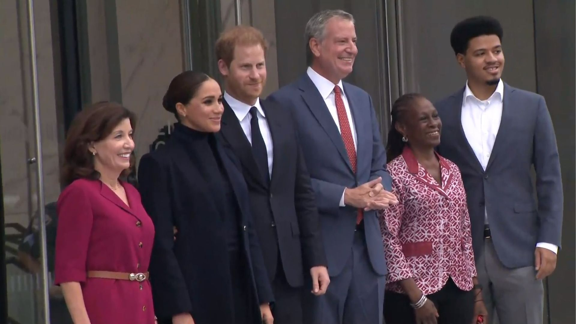 Meghan Markle and Prince Harry in NYC