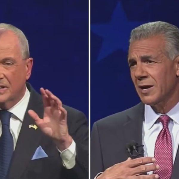 Murphy, Ciattarelli clash in first debate