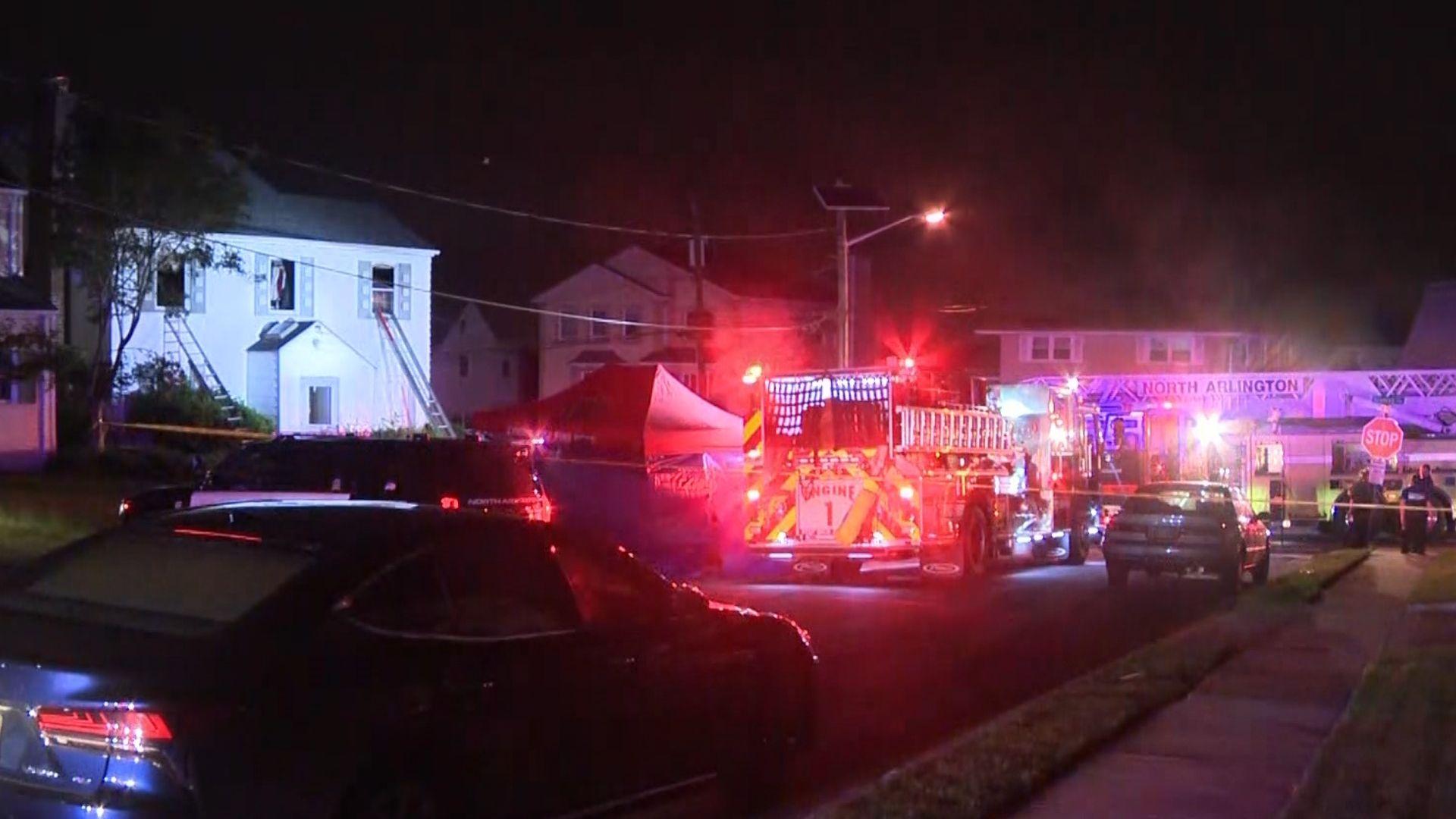 Deadly North Arlington house fire