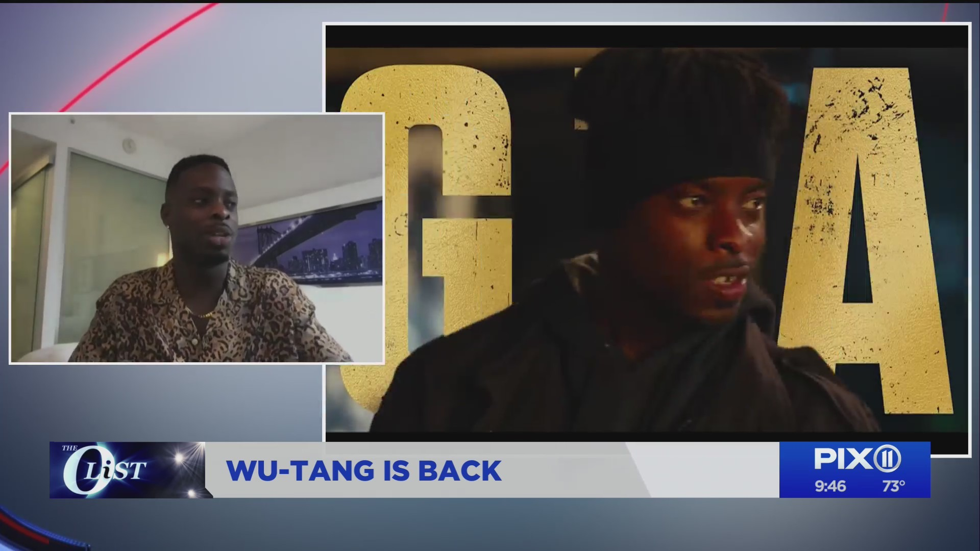 Actor Johnell Young on PIX11