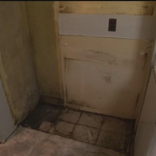 nycha leak kitchen destroyed