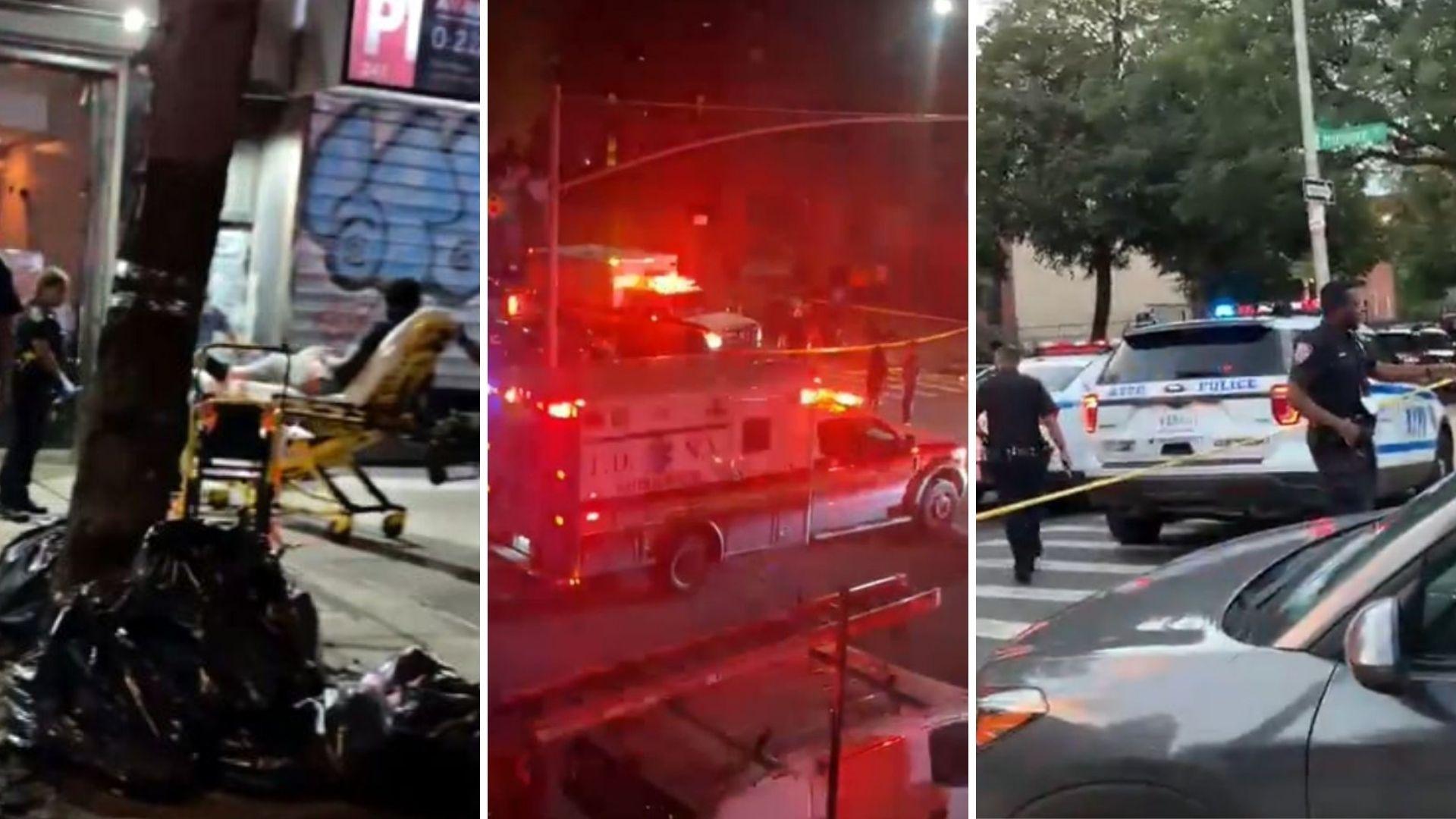 Teen shootings in NYC