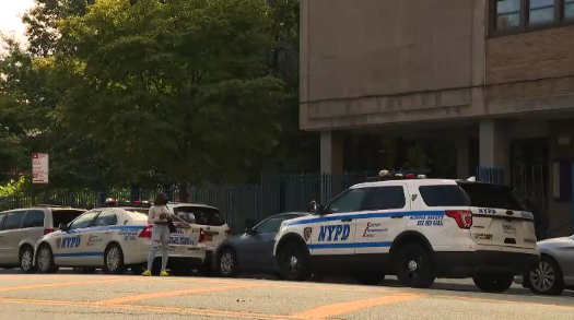 police outside bronx school after stabbing nearby