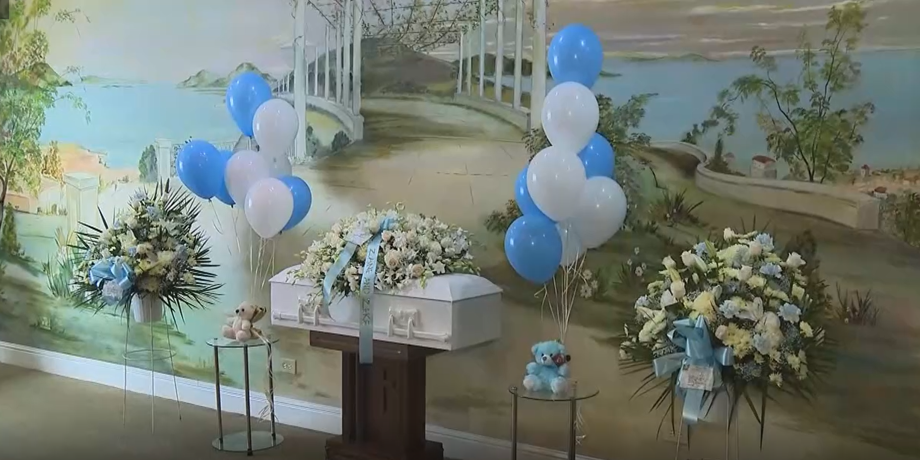 funeral for twin baby boys in the bronx