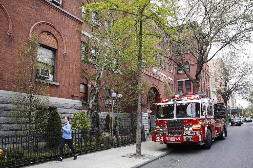 FDNY fire truck Brooklyn
