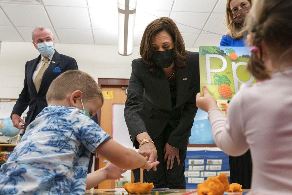 VP Kamala Harris in New Jersey