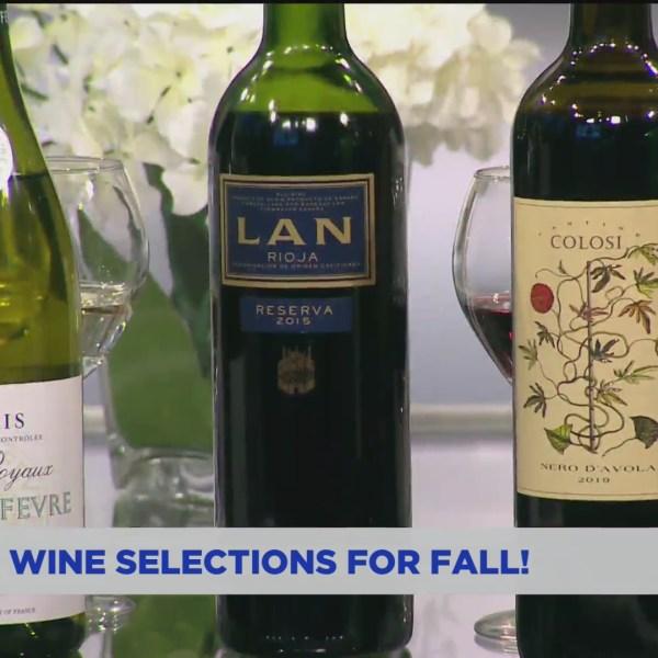 Fall wine pairings