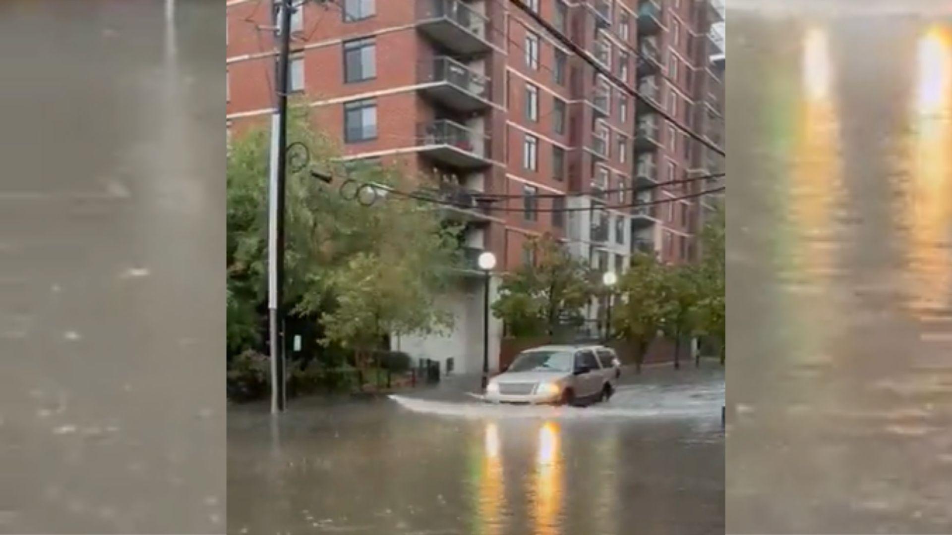 hoboken flooding nor'easter