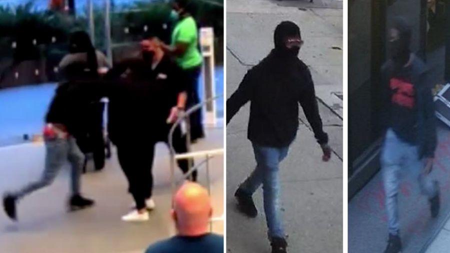 Chelsea Apple Store attack, stabbing surveillance video