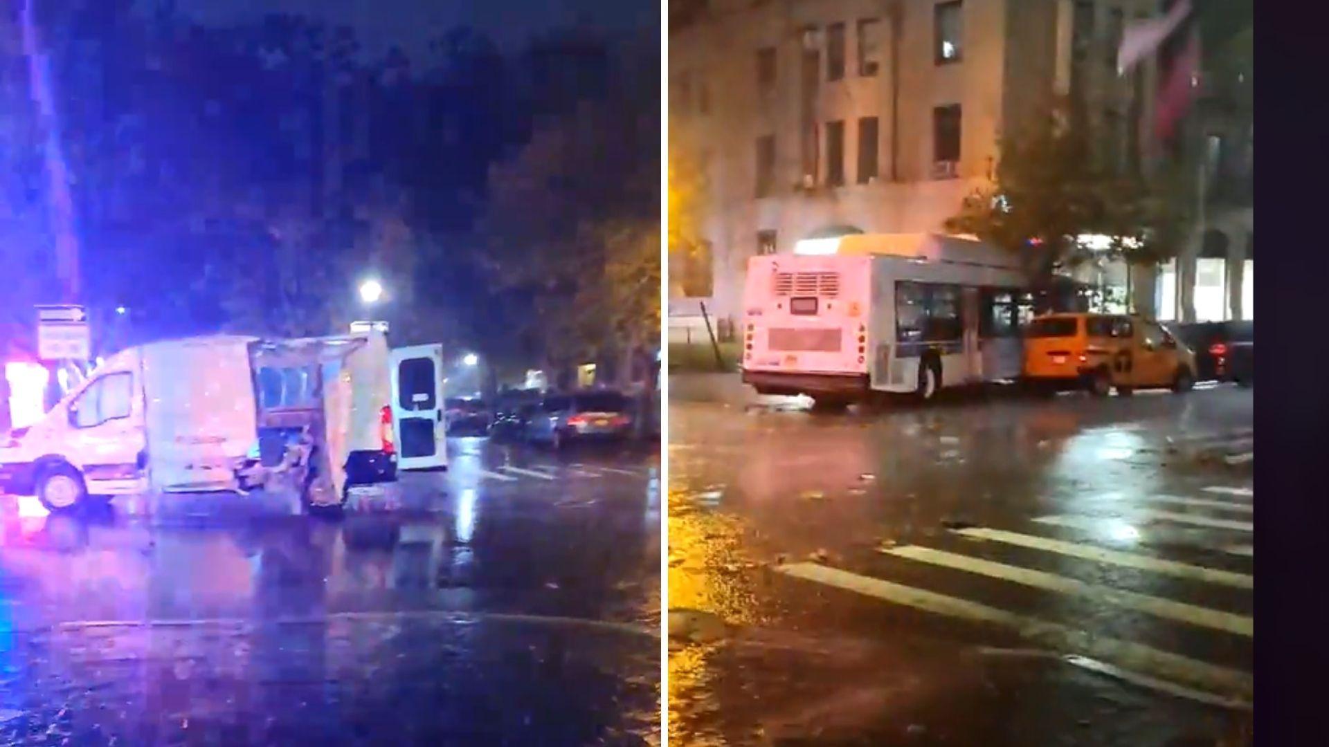 Crown Heights bus crash