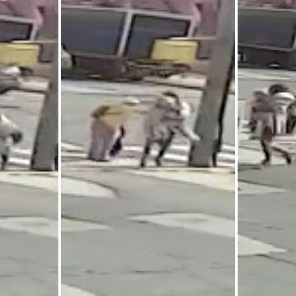 Surveillance video: Bronx attempted abduction