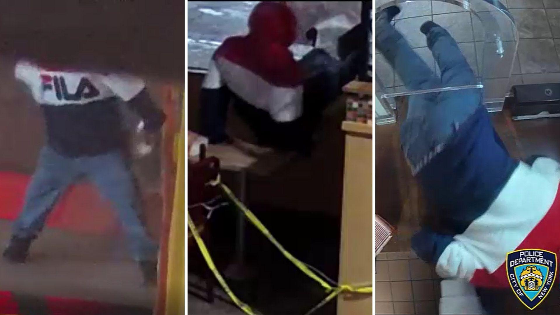 Bronx Popeyes burglary