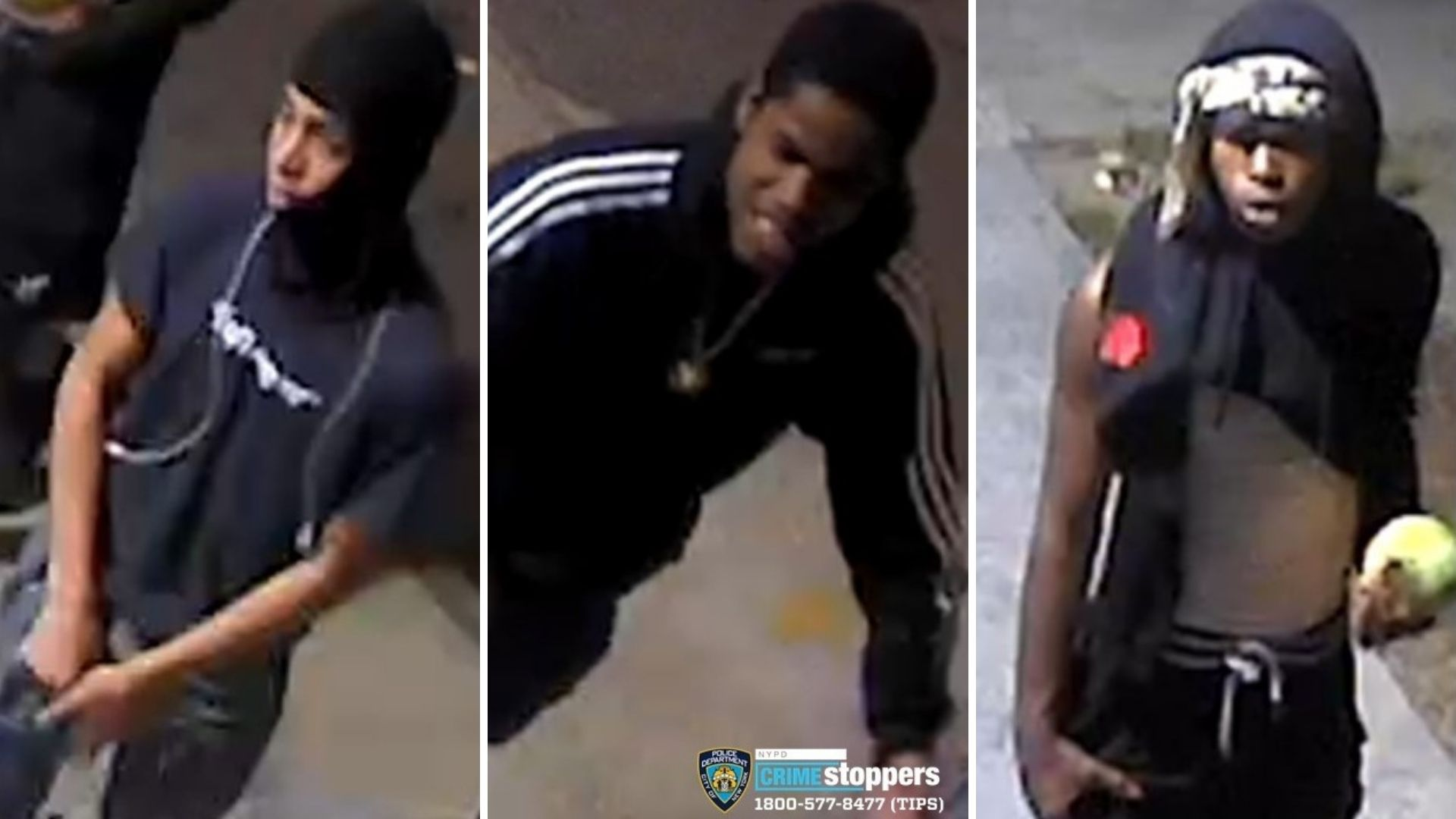 Suspects in string of Bronx robberies