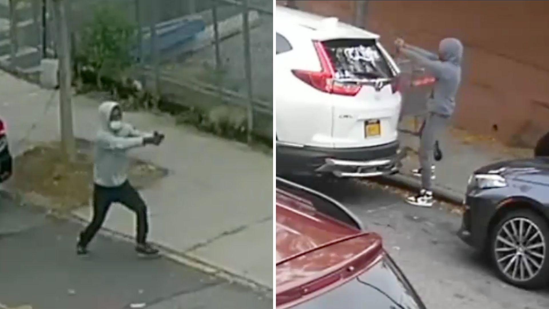 Bronx shootout outside elementary school