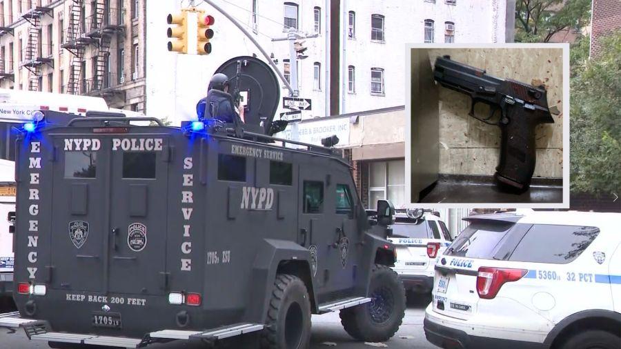 harlem barricade shooting