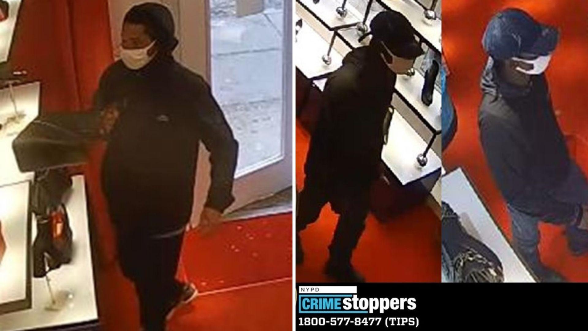 Christian Louboutin robbery
