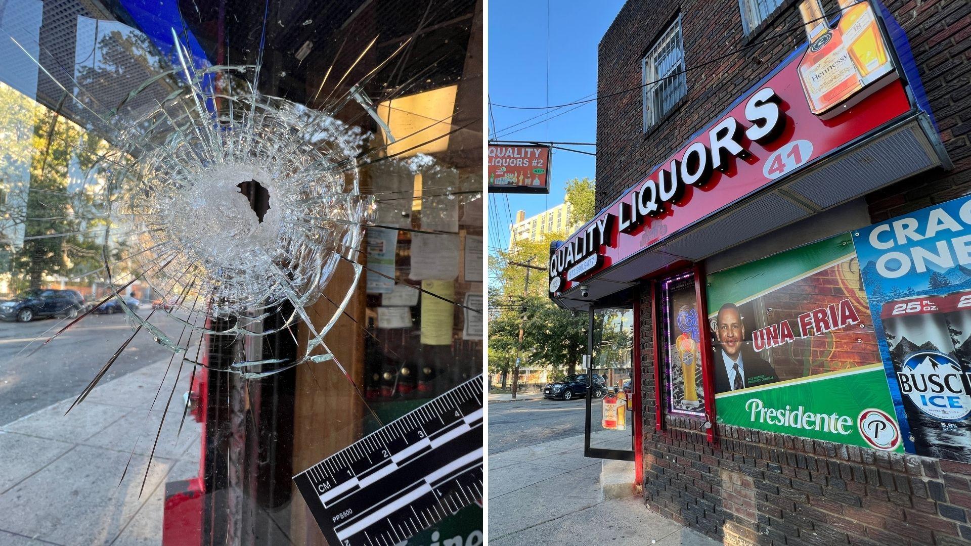 Newark liquor store shooting