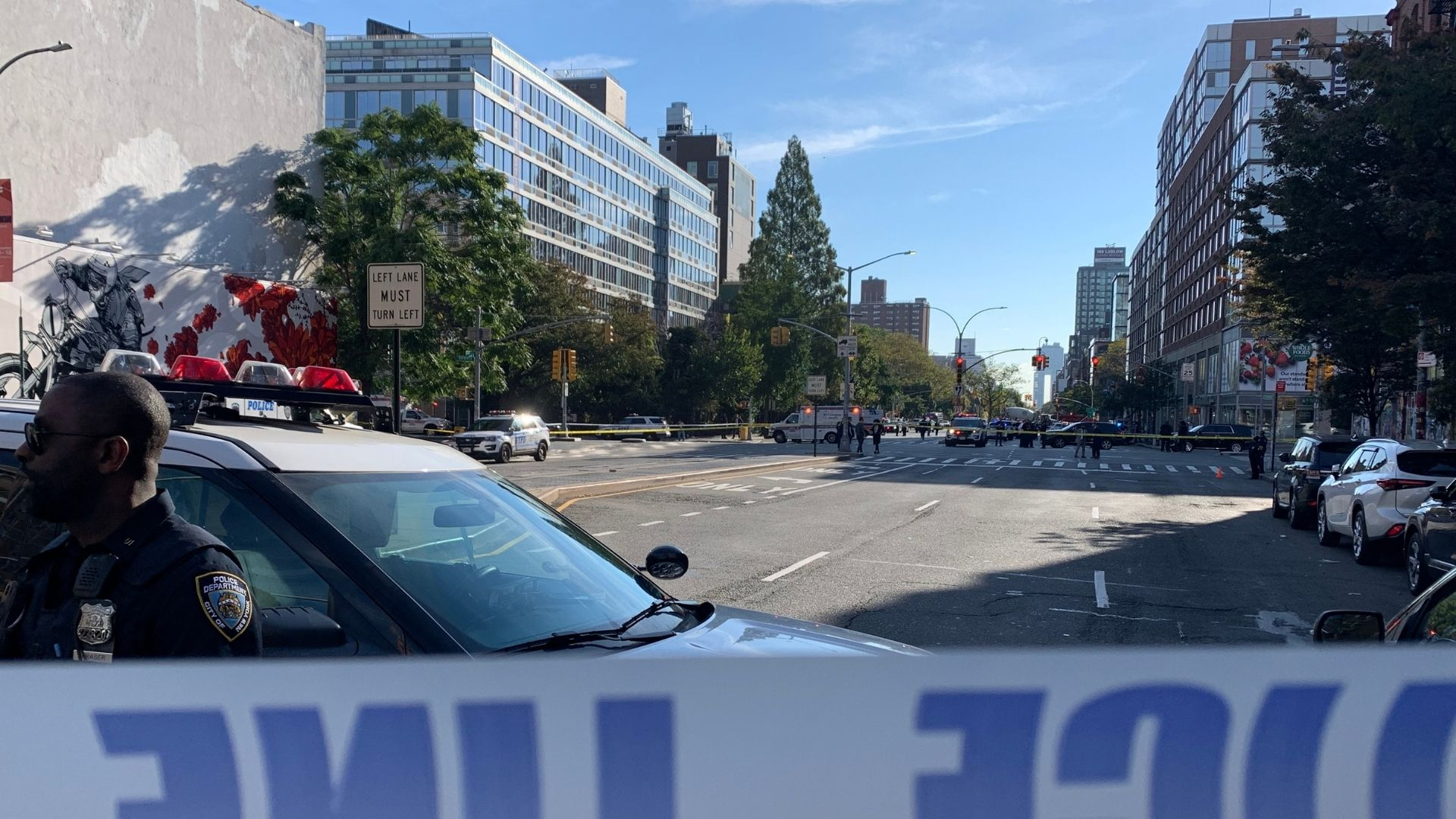 Officer involved shooting in Lower Manhattan