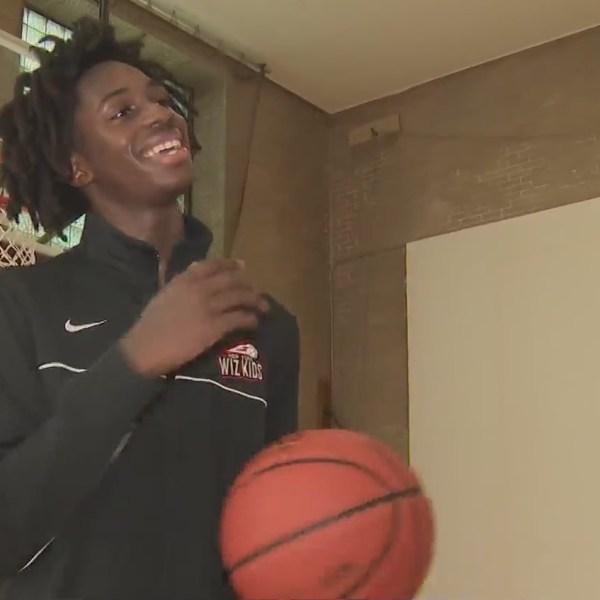 bronx basketball star Ian Jackson