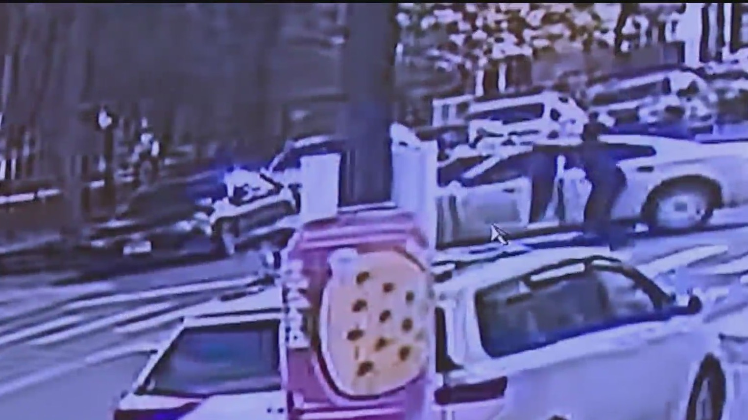 new rochelle police shooting in brooklyn surveillance video