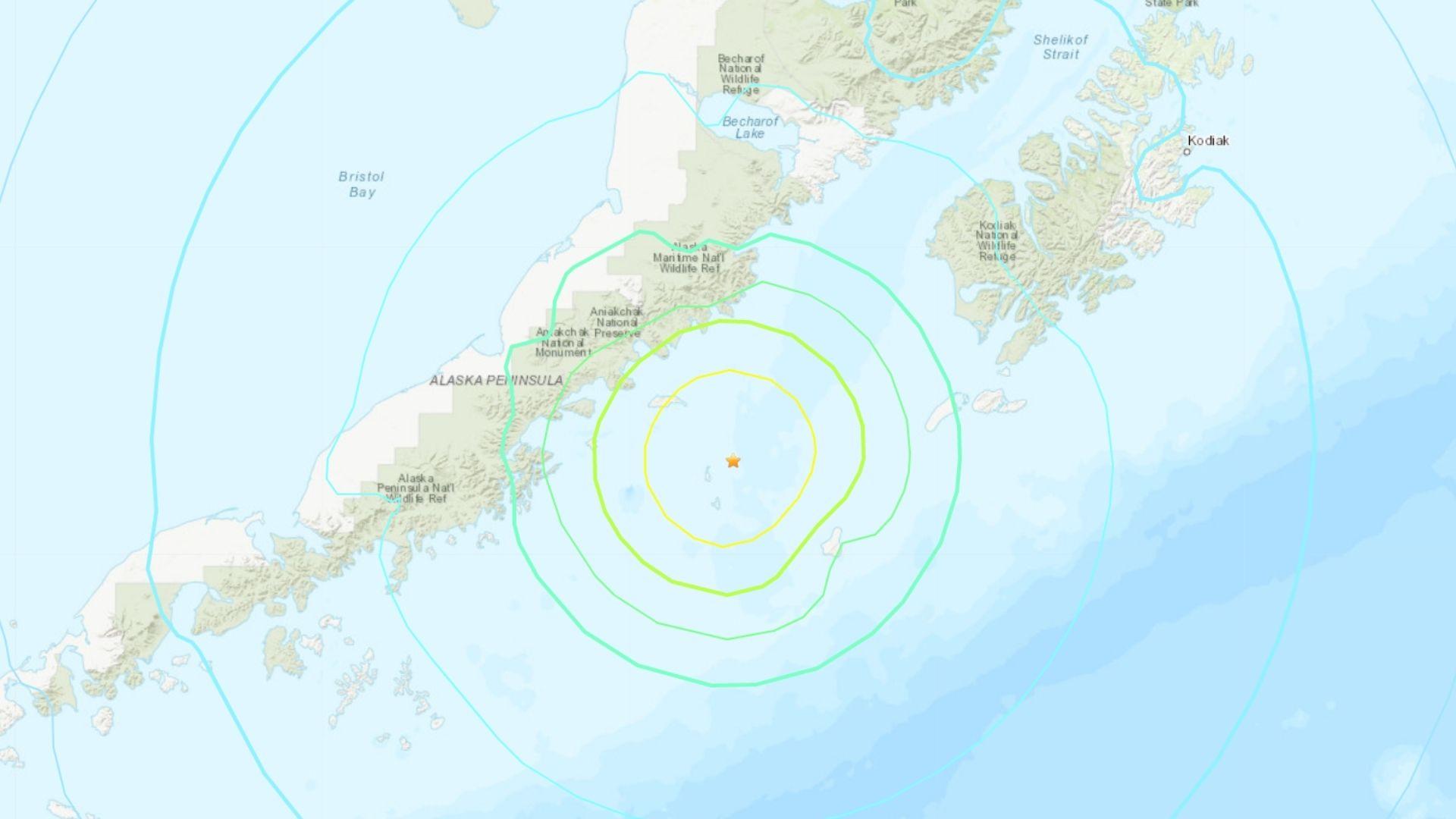 Magnitude 6.5 earthquake strikes off coast of Alaska