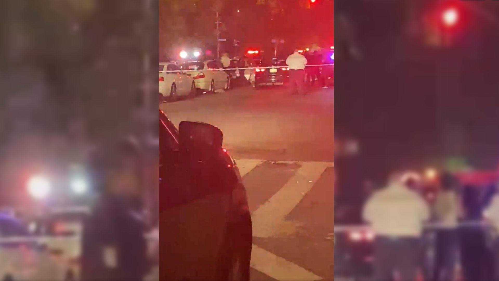 woman shot in car